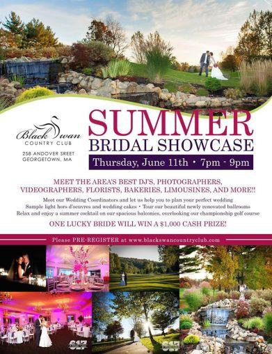 Black Swan Country Club Bridal Show