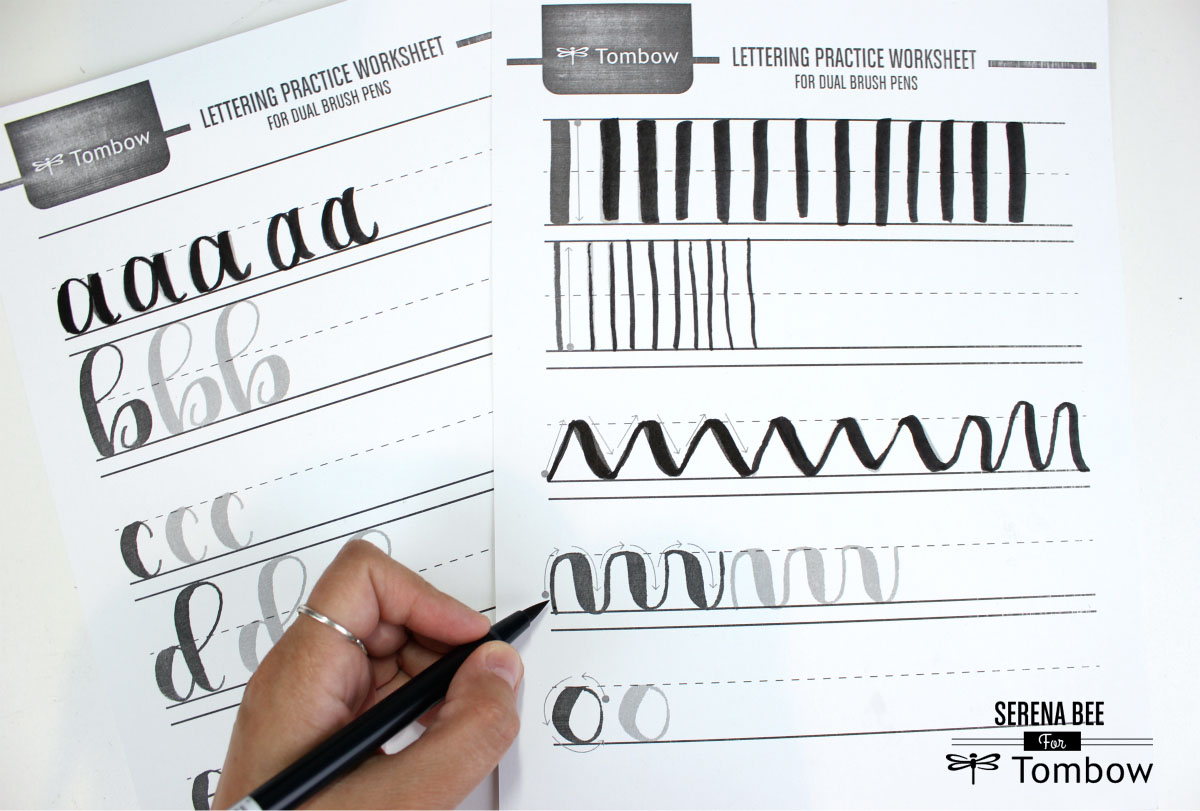 My Lettering Story With The New Tombow Lettering Sets