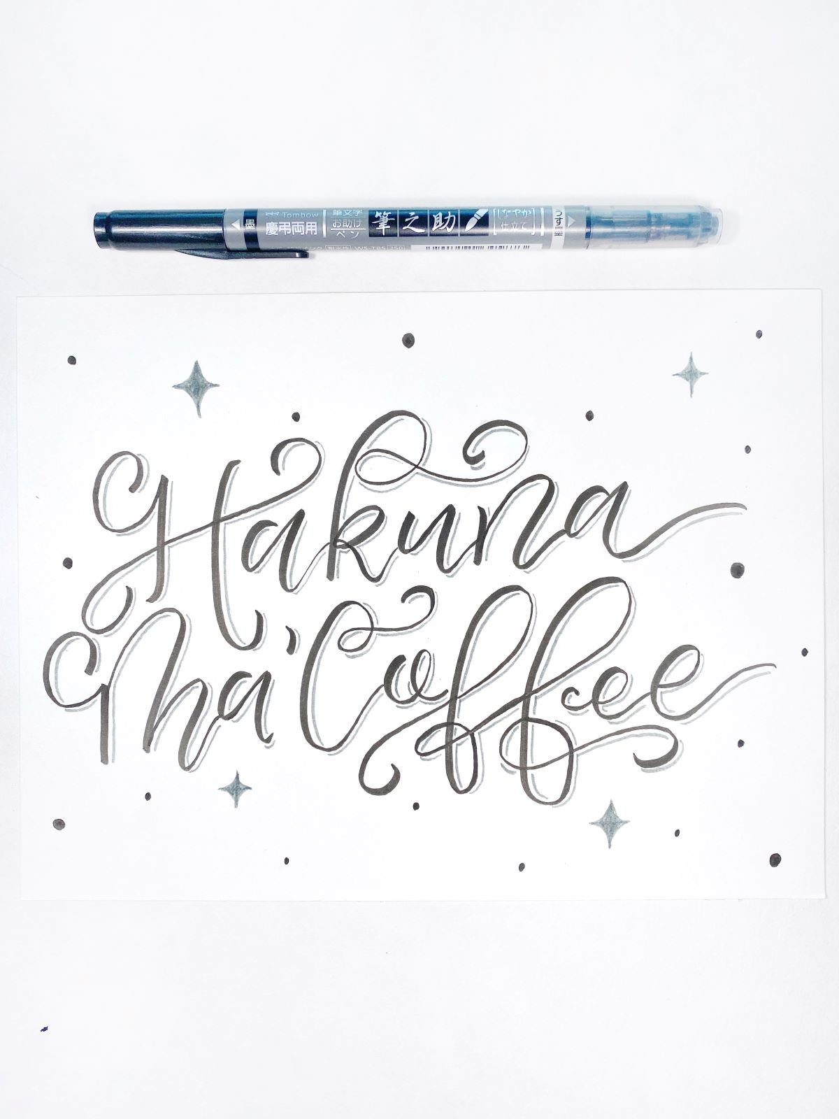 The Top Five Tombow Tools For Hand Lettering