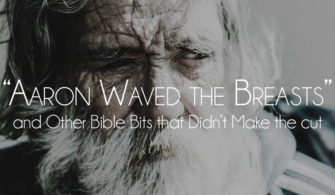 """""""Aaron waved the breasts"""" and Other Bible Bits that Didn't Make the Cut"""