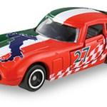 ミニカー発売情報 アピタピアゴオリジナル <世界の国旗トミカ>トヨタ 2000GT イタリア国旗タイプ