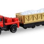 ミニカー発売情報 トミカショップオリジナル メルセデスベンツ ウニモグ 軌陸車