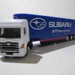 トイザらス限定トミカ SUBARU STI Motorsport レーシングトランスポーター