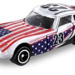 ミニカー発売情報 アピタピアゴオリジナル<世界の国旗トミカ> トヨタ2000GT アメリカ国旗タイプⅡ