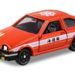 ミニカー発売情報 トミカ幕末コレクション 坂本龍馬トミカ トヨタ AE86 スプリンタートレノ