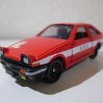 トミカ幕末コレクション 坂本龍馬トミカ トヨタ AE86 スプリンタートレノ