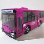 トミカ AEON No.42 AEONバス マゼンタカラー仕様