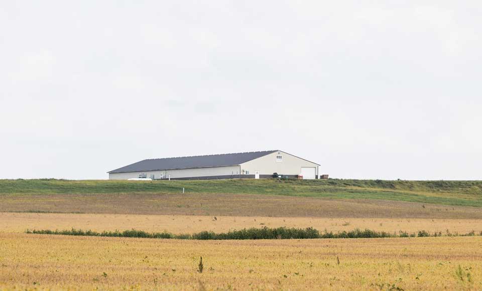 Veroblue Farms, Iowa.