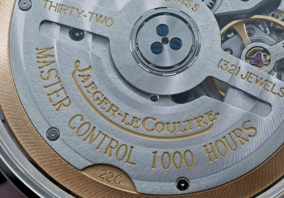 Jaeger-LeCoultre Control 1000 Hours certification