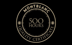 Montblanc 500 hours Quality Certification