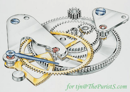 Power reserve mechanism