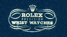Vintage Rolex logo