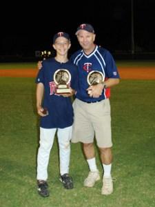 South Fort Myers Little League County Champions Jason Ellis and Brett Ellis
