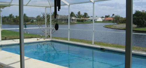 Lakefront Home in Town and River Fort Myers