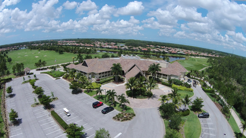 The Plantation Gated Golf Course Community in Fort Myers Florida Clubhouse