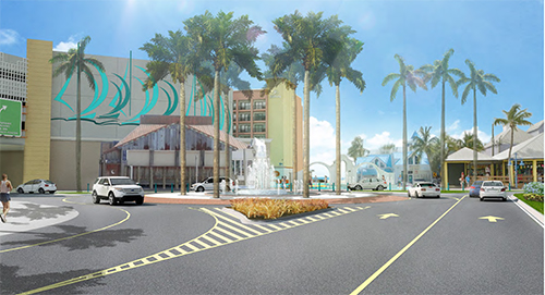 Fort Myers Beach Proposed Roundabout