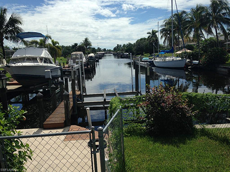 Lee County Real Estate Market Gulf Access Waterfront Home Cape Coral