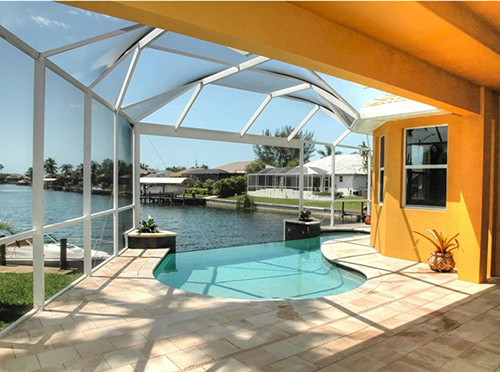 What Does 500,000 Buy in Lee County Real Estate Market Cape Coral waterfront home