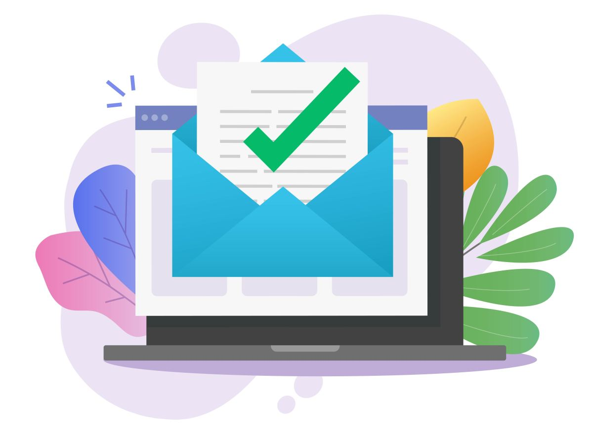 email verification checked