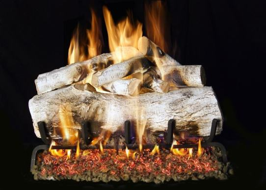 Image of RH Peterson Real-Fyre Mountain Birch Designer Log Set