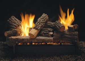 White Mountain Hearth gas log set