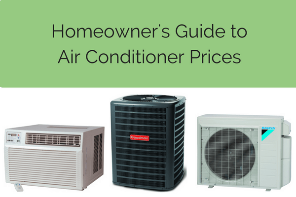 Air conditioner pricing guide