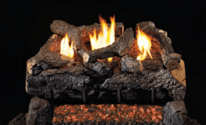 RH Peterson Real-Fyre Evening Fyre Charred Log Set