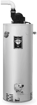 Bradford White RG2PV75H6N 75 Gallon, Power Vent Water Heater
