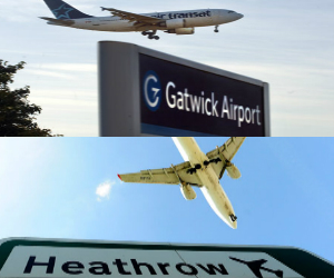 What is the Best Way to Get from Gatwick Airport to Heathrow?