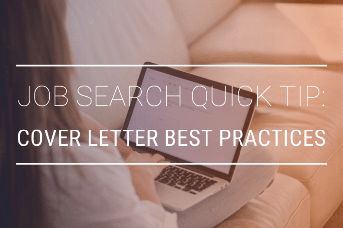 Cover Letter Best Practices