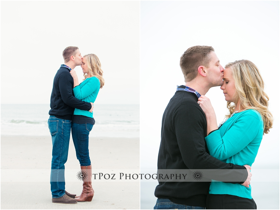 Sea Isle City Beach Engagement Photos