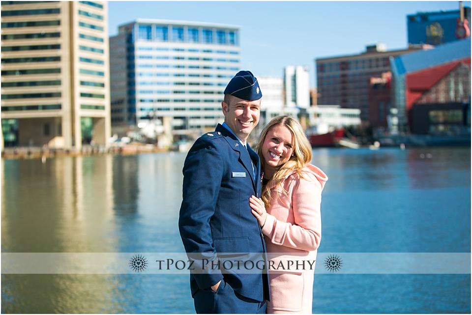 Inner Harbor Engagement Photos