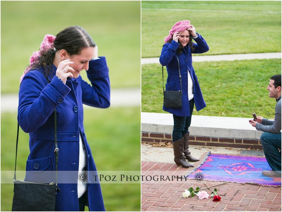 Baltimore Engagement Proposal Photography