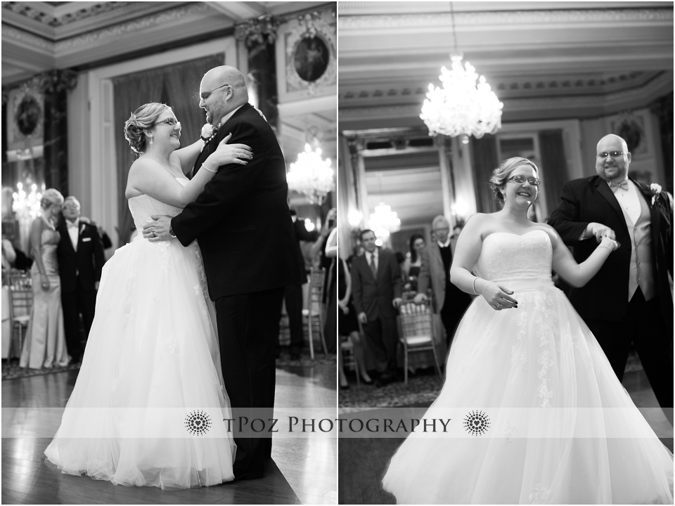 First Dance at The Belvedere Wedding