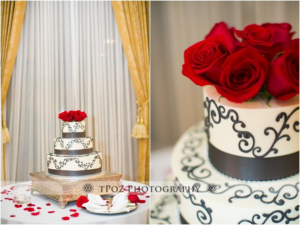 Sugarbakers Wedding Cake