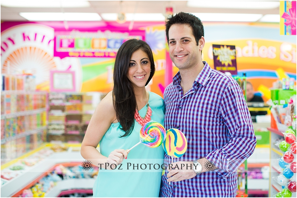 Candy Kitchen Rehoboth Beach Engagement Photo