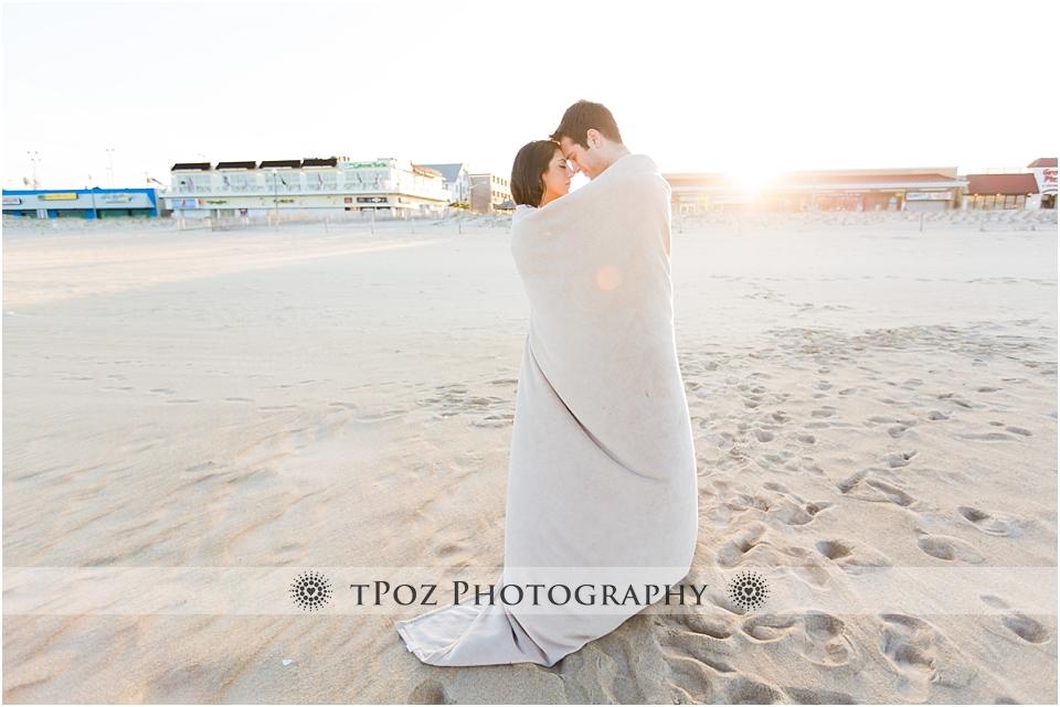 Rehoboth Beach Engagement Photo