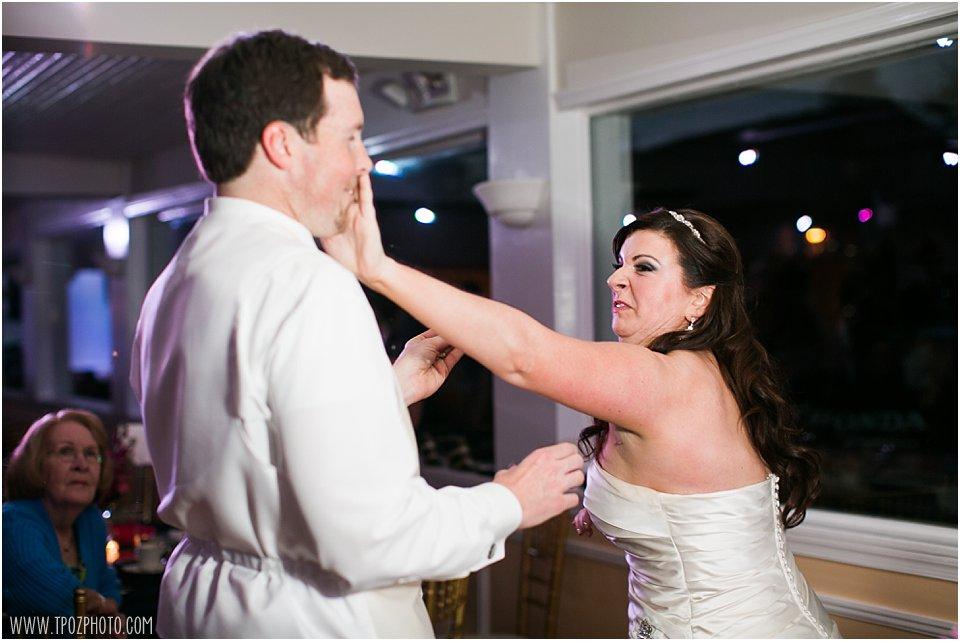 Anchor Inn Wedding cake smash