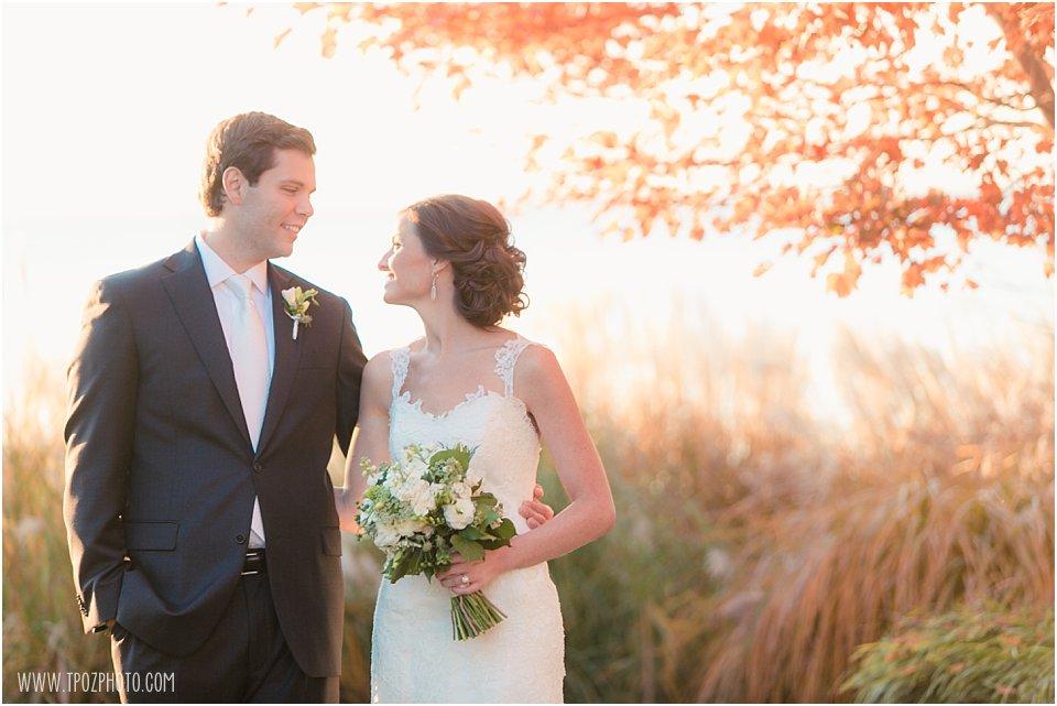 Chesapeake Bay Beach Club Wedding Portraits