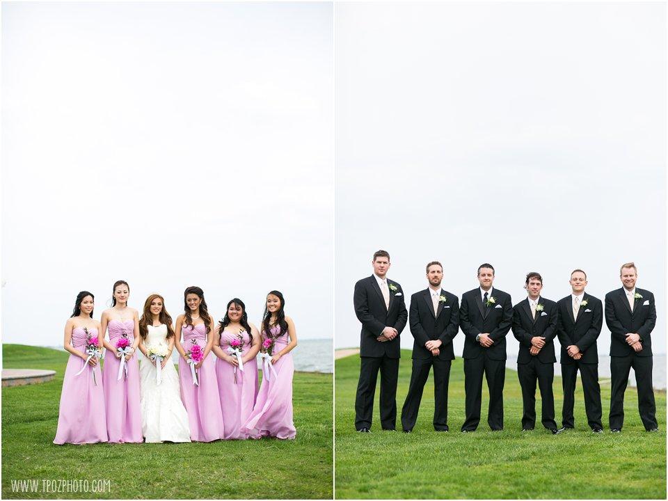 Rehoboth Beach Country Club Wedding Portraits Bridesmaids