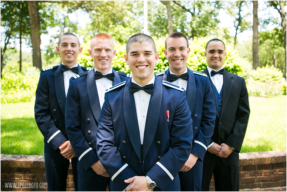 Annapolis wedding groomsmen