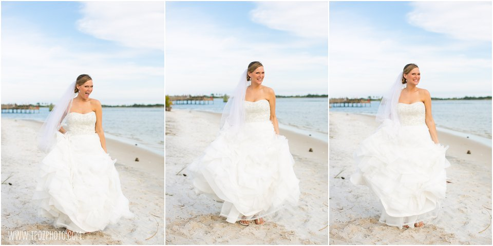 Hurlburt Field Beach Wedding Photos