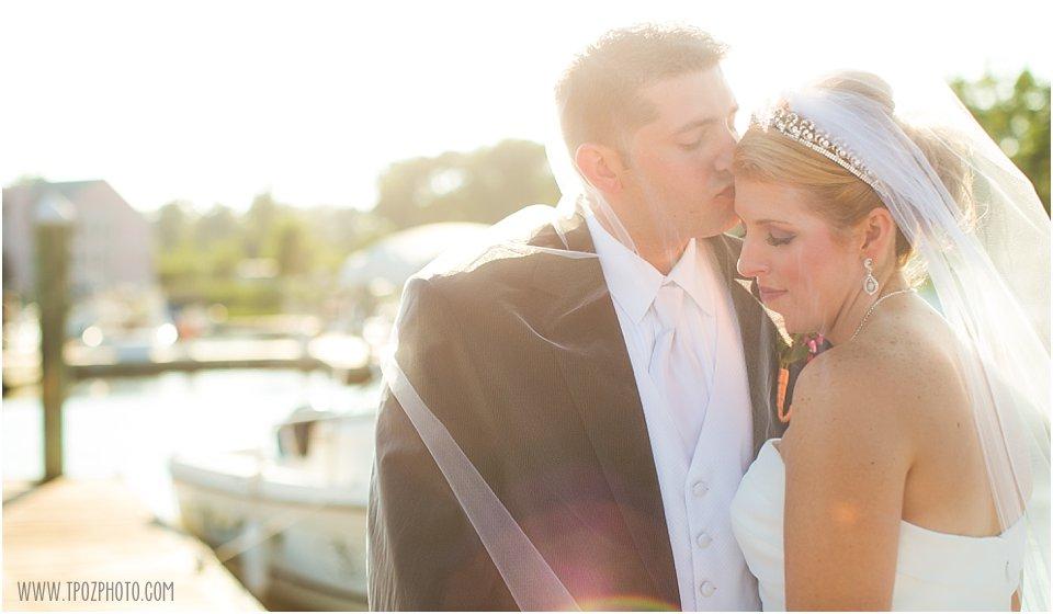 bride & groom under the veil