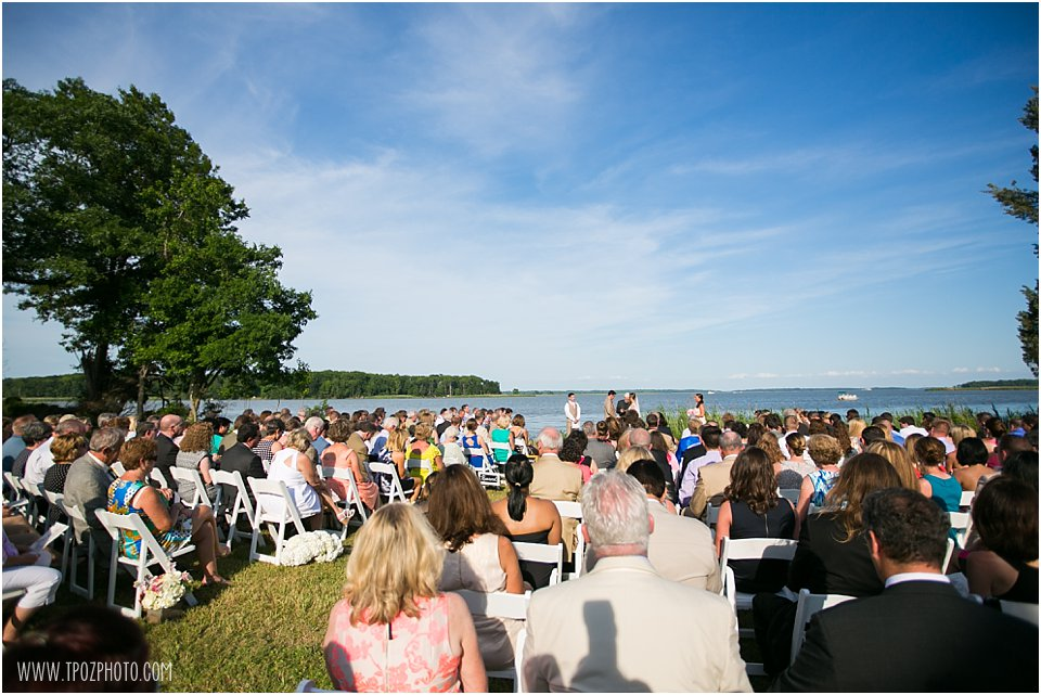 Water's Edge at Marshy Point Wedding Ceremony