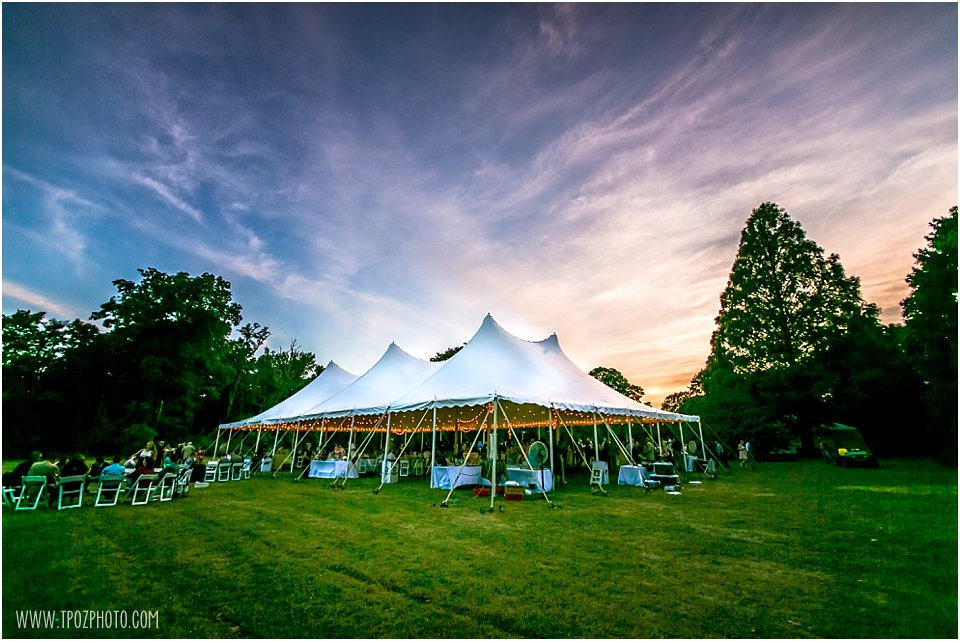 Loane Brothers Tent - Water's Edge at Marshy Point Wedding Reception