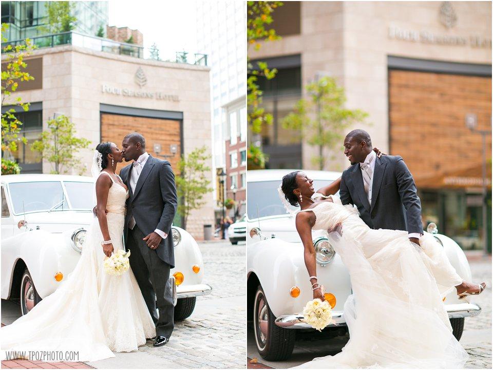 Four Seasons Baltimore Wedding Photos