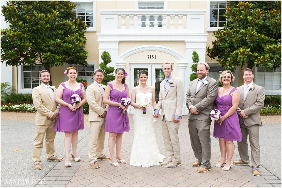Bridal Party at the Yacht Club