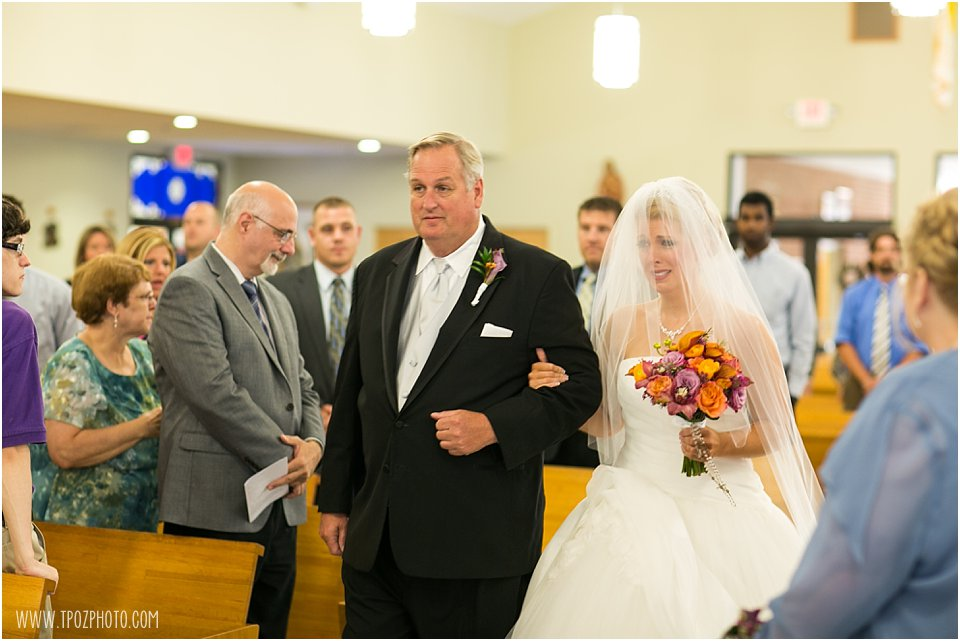 St. Luke's Ocean City Wedding Ceremony