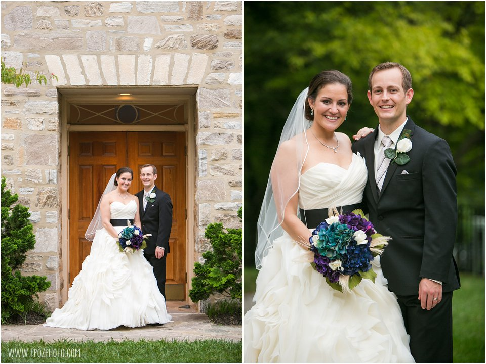 Kerri+Ben's Peacock themed wedding