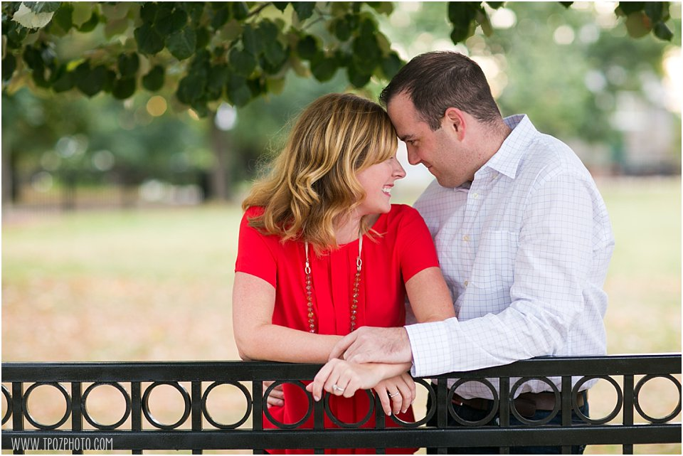 Federal Hill Park Engagement Photos